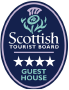Scottish Tourist Board 4 star guest house.